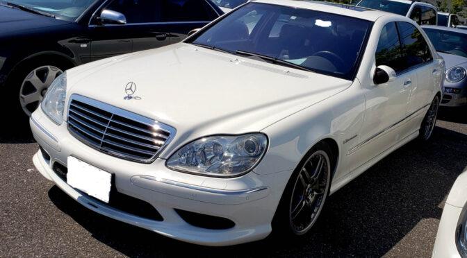 Mercedes S 55 L AMG Kompressor W220 2003 – 110000PLN – Katowice