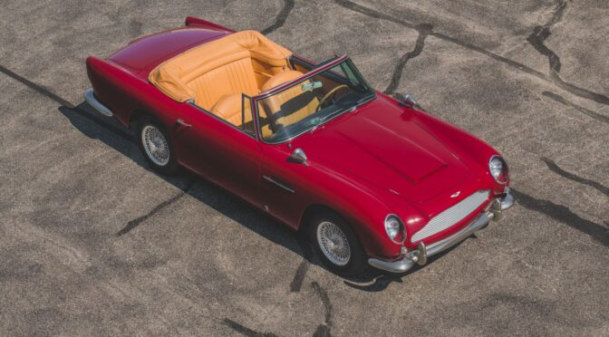 Aston Martin DB5 Vantage Convertible 1965 – USA
