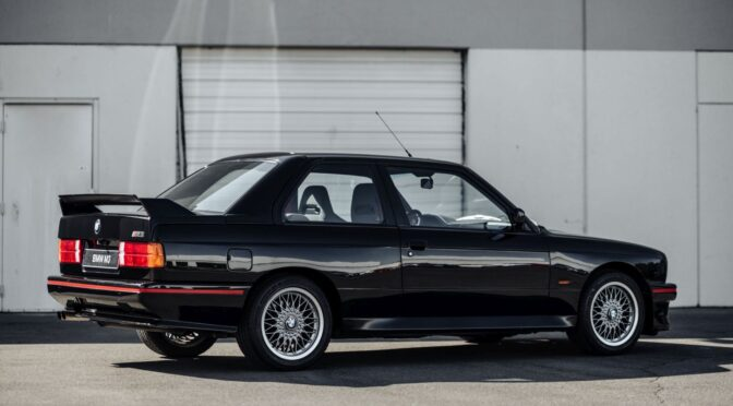 BMW M3 Sport Evolution 1990 – USA