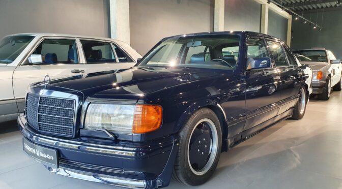 Mercedes 560 SEL 6.0 AMG W126 1989 – SPRZEDANY