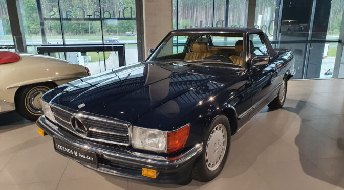 Mercedes 560 SL R107 1987 – 129900PLN – Poznań