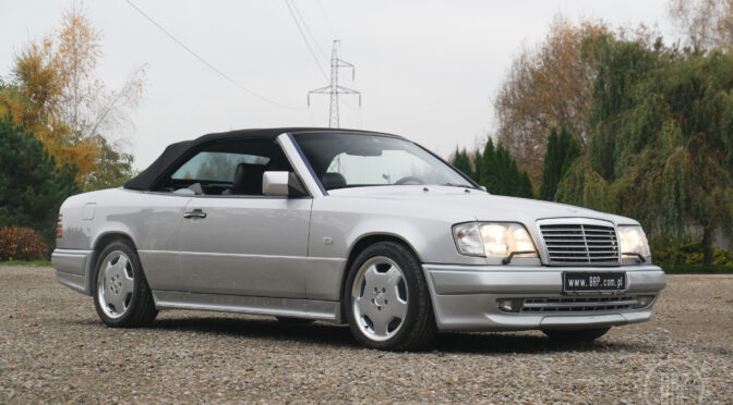 Mercedes E36 AMG Cabrio A124 1995 – 349000PLN – Dębe Wielkie