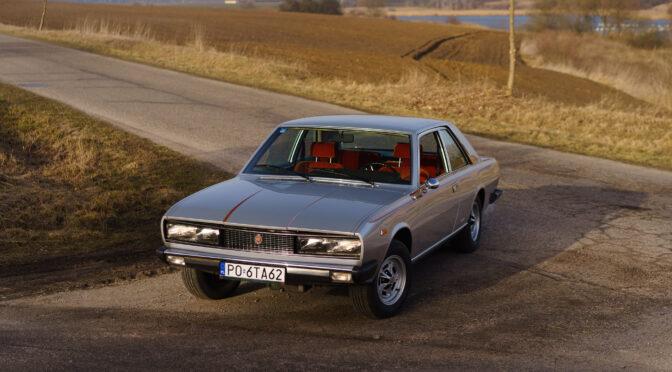 Fiat 130 Coupe 1974 – 130000PLN – Poznań