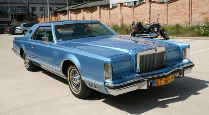 Lincoln Continental Mark V 1978 – 69000 PLN – Tarnów