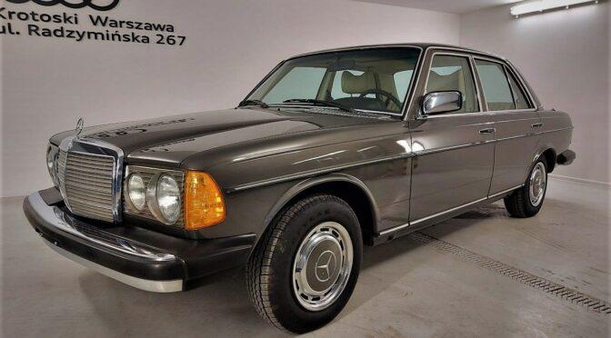 Mercedes 300D W123 1978 – SPRZEDANY