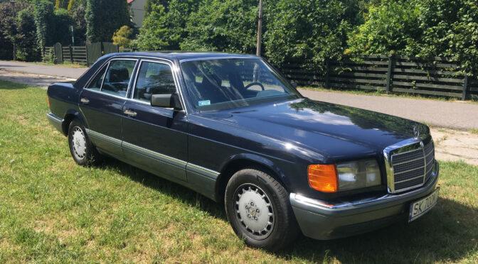Mercedes 300 SE W126 1988 – 84000PLN – Katowice