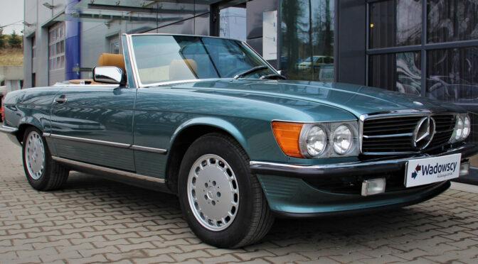 Mercedes 560 SL R107 1985 – 162000PLN – Gaj