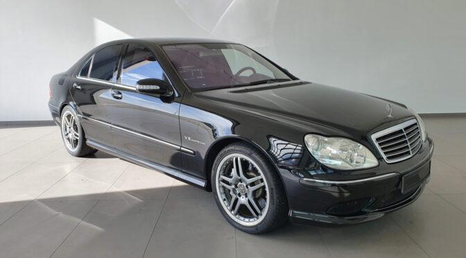 Mercedes S 55 AMG Kompressor W220 2004 – 208000PLN – Poznań