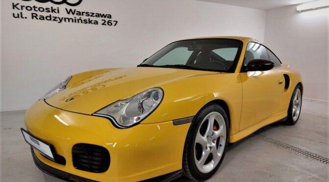 Porsche 911 Turbo 996 2001 – REZERWACJA