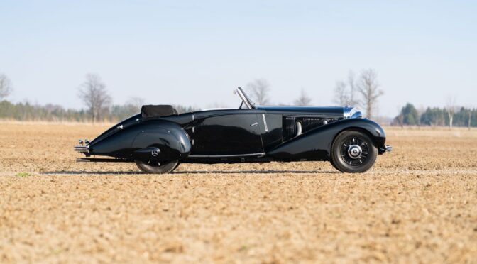 Mercedes 500 K Roadster 1935 – USA