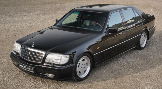Mercedes 600 SEL AMG W140 1993 – 249000PLN – Kotorydz