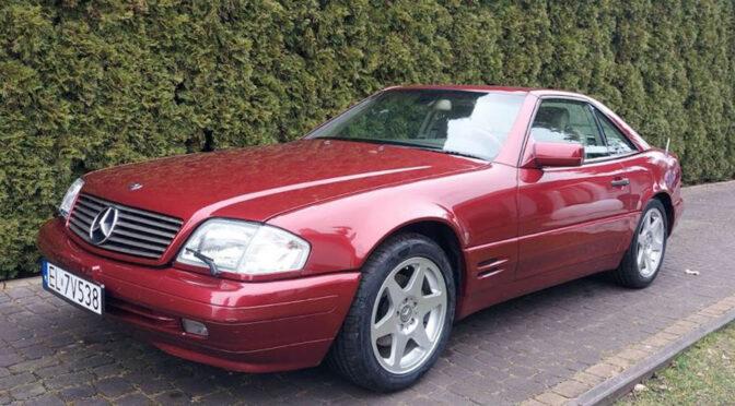 Mercedes SL 500 40th Anniversary R129 1997 – 99999PLN – Łódź