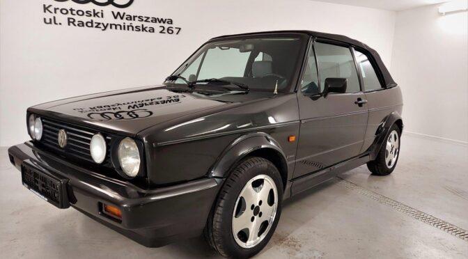 Volkswagen Golf Mk1 Cabriolet 1989 – 38900PLN – Warszawa