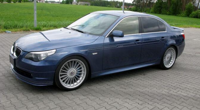 BMW Alpina B5 Supercharged E60 2007 – Toruń