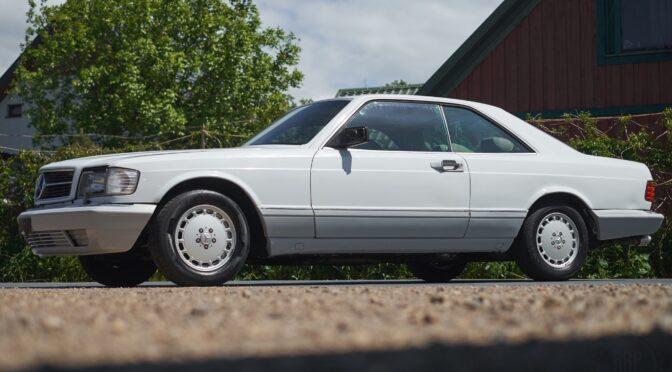 Mercedes 560 SEC 1989 – 69000PLN – Dębe Wielkie
