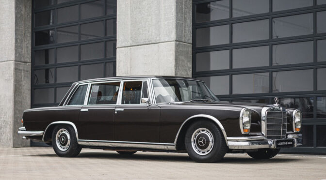 Mercedes 600 W100 1971 – 799000PLN – Poznań