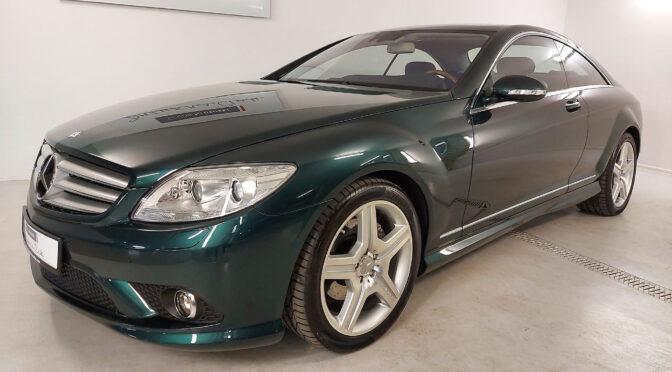 Mercedes CL 550 C216 2007 – 155900PLN – Warszawa