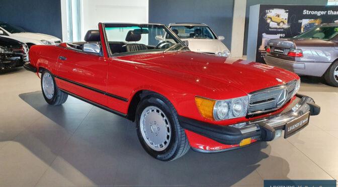 Mercedes 560 SL R107 1986 – 119900PLN – Poznań