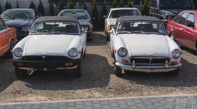 MG MGB 1972 + 1977 – 33900PLN – Dębe Wielkie