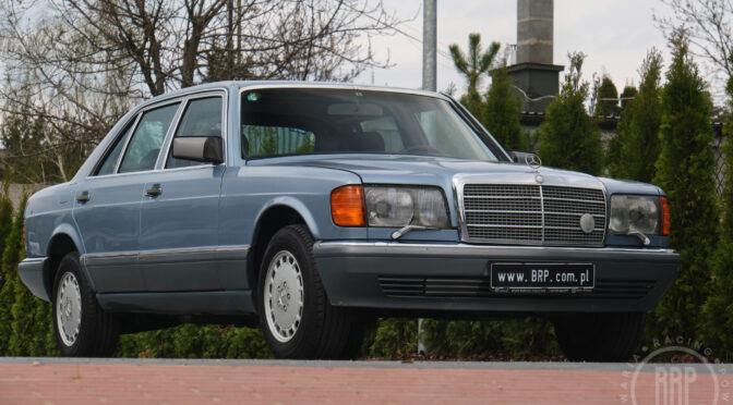 Mercedes 560 SEL W126 1987 – 69900PLN – Dębe Wielkie