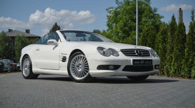 Mercedes SL 55 AMG R230 2002 – 149000PLN – Dębe Wielkie