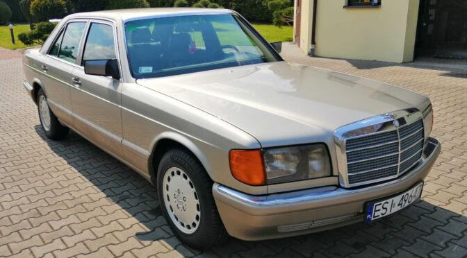Mercedes 300 SE W126 1989 – 97000PLN – Sieradz